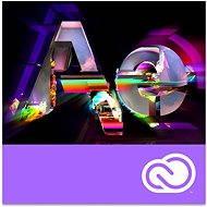 Adobe After Effects Creative Cloud MP team ENG Commercial (1 hónap) (elektronikus licenc) - Grafikai szoftver