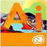 Adobe Illustrator Creative Cloud MP ML (CZ-vel együtt) Kereskedelmi (12 hónap - elektronikus licenc) - Grafikai szoftver