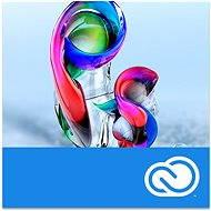 Adobe Photoshop Creative Cloud MP ENG Commercial (1 hónap - elektronikus licenc) - Grafikai szoftver