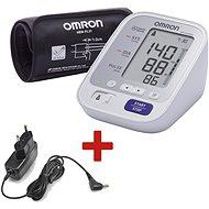 OMRON M3 Comfort + TÁPEGYSÉG (KÉSZLET) - Vérnyomásmérő