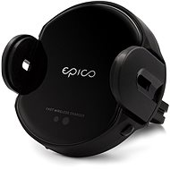 Epico Wireless Charging Sensor Car Holder 10W/7.5W/5W - fekete - Tartó