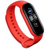 Epico szilikon szíj, Xiaomi Mi Band 5 - piros - Szíj