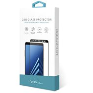Epico Glass 2.5D Samsung Galaxy A20e készülékhez, fekete - Képernyővédő