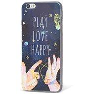 Epico Design Case iPhone 6/6S Plus Play, Love, Happy - Mobiltelefon hátlap