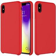 Epico Silicone iPhone XR készülékhez piros - Mobiltelefon hátlap