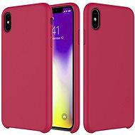 Epico Silicone iPhone XR készülékhez, sötét rózsaszínű
