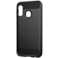 Epico CARBON Samsung Galaxy A20e, fekete - Mobiltelefon hátlap