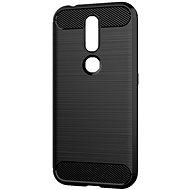 Epico CARBON Nokia 4.2, fekete - Mobiltelefon hátlap