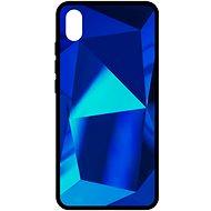 Mobiltelefon hátlap Epico COLOUR GLASS CASE Xiaomi RedMi 7A, kék - Kryt na mobil