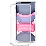 EPICO GLASS CASE 2019 iPhone 11 - átlátszó / fehér - Mobiltelefon hátlap