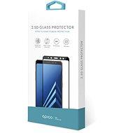 Epico Glass 2.5D Honor 8X készülékhez fekete - Képernyővédő