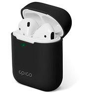 Epico szilikon AirPods Gen 2 - fekete - Fülhallgató tok