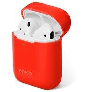 Epico szilikon AirPods Gen 2 - piros - Fülhallgató tok