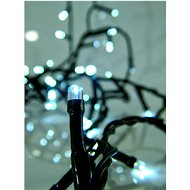 EUROLAMP karácsonyi fényfüzér 180 LED hideg fehér - Fényfüzér