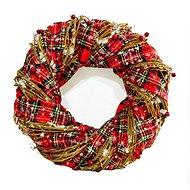 Karácsonyi dekoratív koszorú - 600-43577 típus - Karácsonyi díszítés