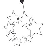 EUROLAMP Comet, 8 csillag - Karácsonyi fény