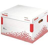 ESSELTE Speedbox 39,4 l, fehér-piros