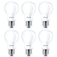 Philips LED 8-60W, E27, 2700K, matt, 6 db-os szett - LED izzó