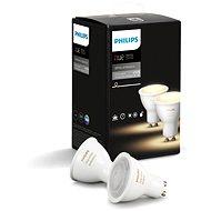 Philips Hue White Ambiance 5.5W GU10 LED izzó - 2 darab - LED izzó