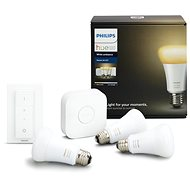 Philips Hue White Ambiance 9.5W A60 Starter kit - LED izzó
