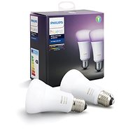 Philips Hue White and Color ambiance 10W E27 szett 2 db - LED izzó