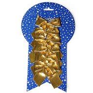 EverGreen masni fényes x 6, 8x8 cm, arany - Karácsonyi díszítés