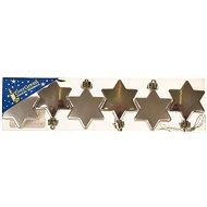 EverGreen csillag 3 fényes + 3 matt, 4,5 cm - Karácsonyi díszítés