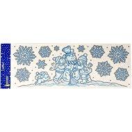 EverGreen® Ablakdísz gyermekeknek 60x21 cm - Karácsonyi díszítés