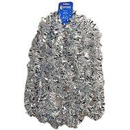 EverGreen® Fólia szalag, szélessége 9 cm, hossza 600 cm, színe fehér-ezüst - Karácsonyi díszítés