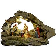 EverGreen® Világító betlehem, LED, 31 x 9,5 x 19 cm - Karácsonyi díszítés