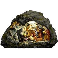 EverGreen® Világító betlehem, LED, 38 x 13 x 25 cm - Karácsonyi díszítés