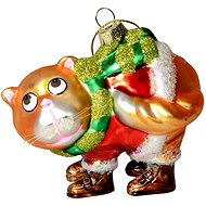EverGreen® Csizmás macska, doboz, h. 10 cm - Karácsonyi díszítés