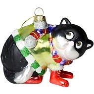 EverGreen® perzsa macska, doboz, l. 10 cm - Karácsonyi díszítés