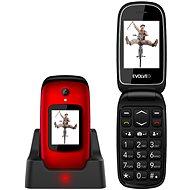 EVOLVEO EasyPhone FD, piros - Mobiltelefon