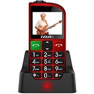 EVOLVEO EasyPhone FM, piros - Mobiltelefon