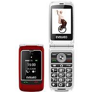 EVOLVEO EasyPhone FG piros - Mobiltelefon