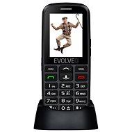 EVOLVEO EasyPhone EG fekete - Mobiltelefon