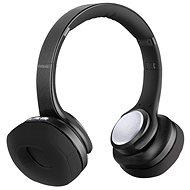 EVOLVEO SupremeSound 8EQ 2in1 hangszóróval, fekete - Vezeték nélküli fül-/fejhallgató
