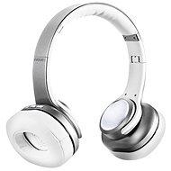 EVOLVEO SupremeSound 8EQ 2in1 hangszóróval, ezüst - Vezeték nélküli fül-/fejhallgató