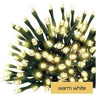 EMOS LED karácsonyi lánc, 8,4 m, 3x AA, beltéri és kültéri, melegfehér, időzítővel - Fényfüzér