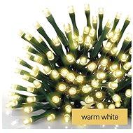 EMOS LED karácsonyi lánc zöld, 12 m, beltéri és kültéri, meleg fehér - Fényfüzér