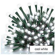 EMOS LED karácsonyi lánc, 12 m, beltéri és kültéri, hideg fehér, programok - Fényfüzér