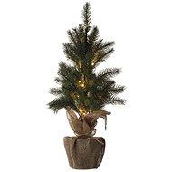 EMOS LED karácsonyfa, 52 cm, 3x AA, beltéri, meleg fehér, időzítővel - Karácsonyfa