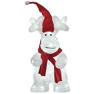 EMOS LED karácsonyi rénszarvas, 34,5 cm, beltéri és kültéri, hideg fehér, időzítővel - Karácsonyi világítás
