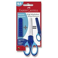 Faber-Castell Grip 13 cm kék - Olló
