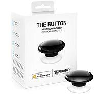 FIBARO The Button, fekete - Okos vezeték nélküli gomb