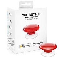 FIBARO The Button, piros - Okos vezeték nélküli gomb