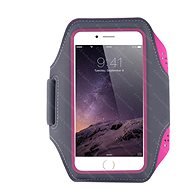 OEM Karra rögzíthető tok sportoláshoz, rózsaszín - Mobiltelefon tok