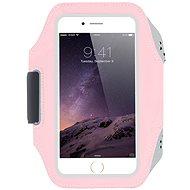 OEM Karra rögzíthető neoprén tok sportoláshoz, rózsaszín - Mobiltelefon tok