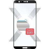 FIXED Full-Cover Huawei P Smart készülékhez fekete - Képernyővédő